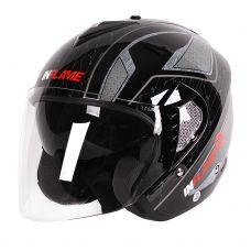 Шлем открытый INFLAME PALADIN INNERCITY, черно-...